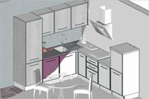 Conception et pose de votre cuisine sur mesure Mobilier, plan de travail et crédence