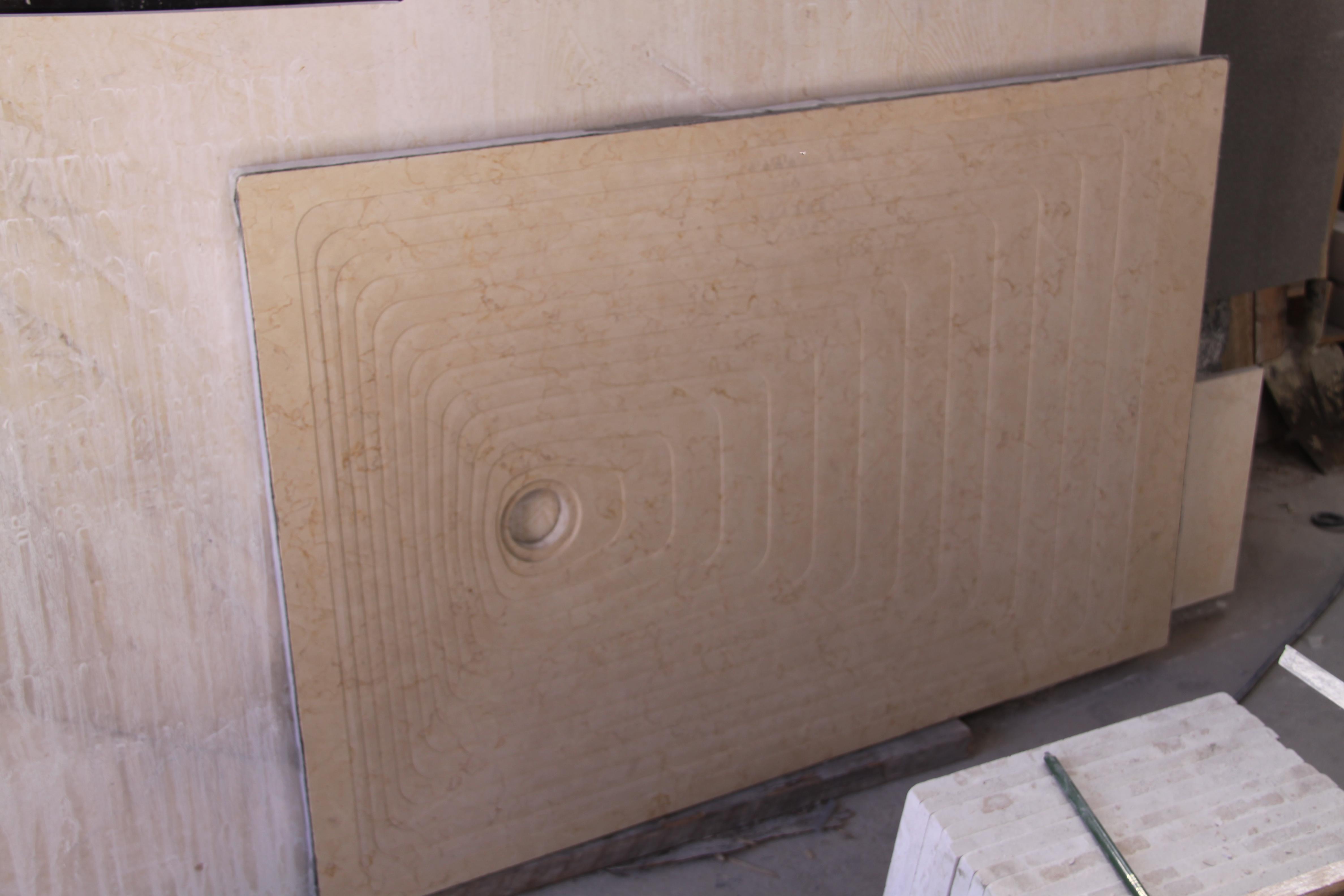 conception receveur en pierre naturelle sur mesure. Black Bedroom Furniture Sets. Home Design Ideas